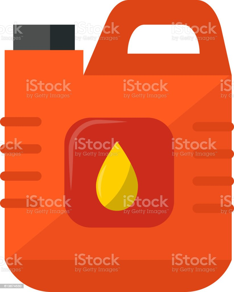 Jerry can vector illustration. – Vektorgrafik