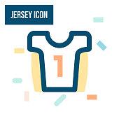 istock Jersey Icon 1313803117
