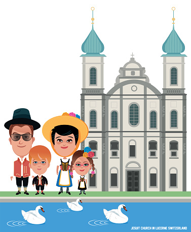 Jesuit Church and Swiss Family