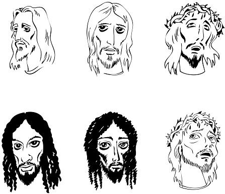 Jesus Christ riligious illustrations