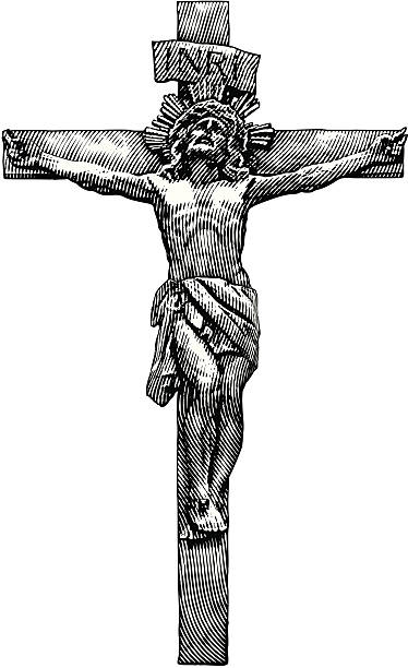 Best Crucifix Illustrations, Royalty-Free Vector Graphics ...