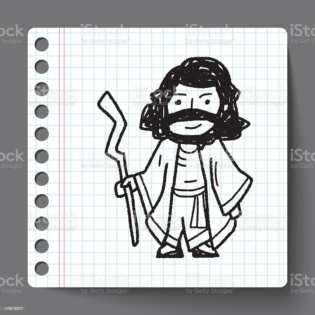 Jesus doodle