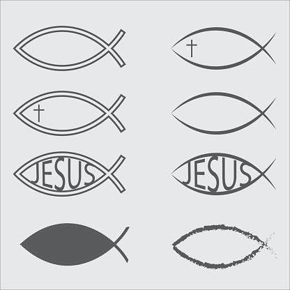 Jesus Fish Icons