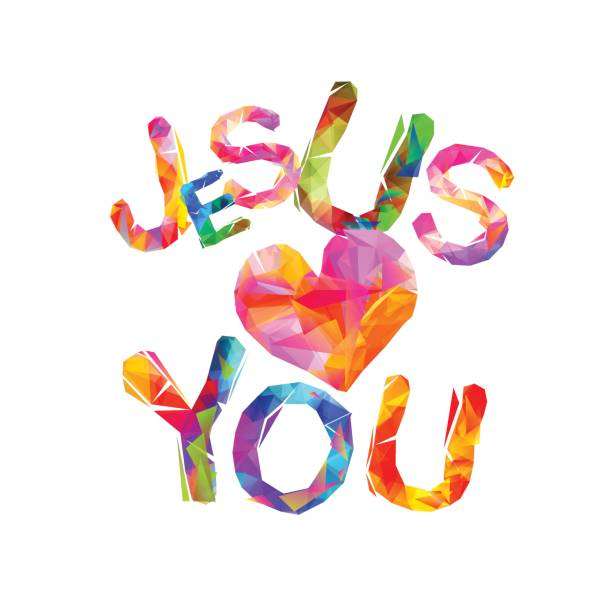 Royalty Free Jesus Love Clip Art, Vector Images & Illustrations - iStock