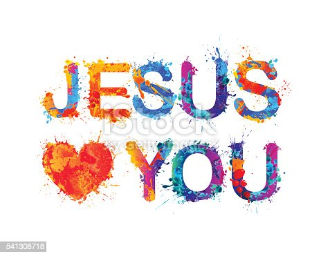 Download Jesus Loves You Stock Vector Art & More Images of ...
