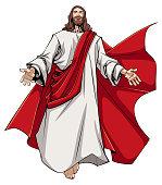 Jesus Open Arms