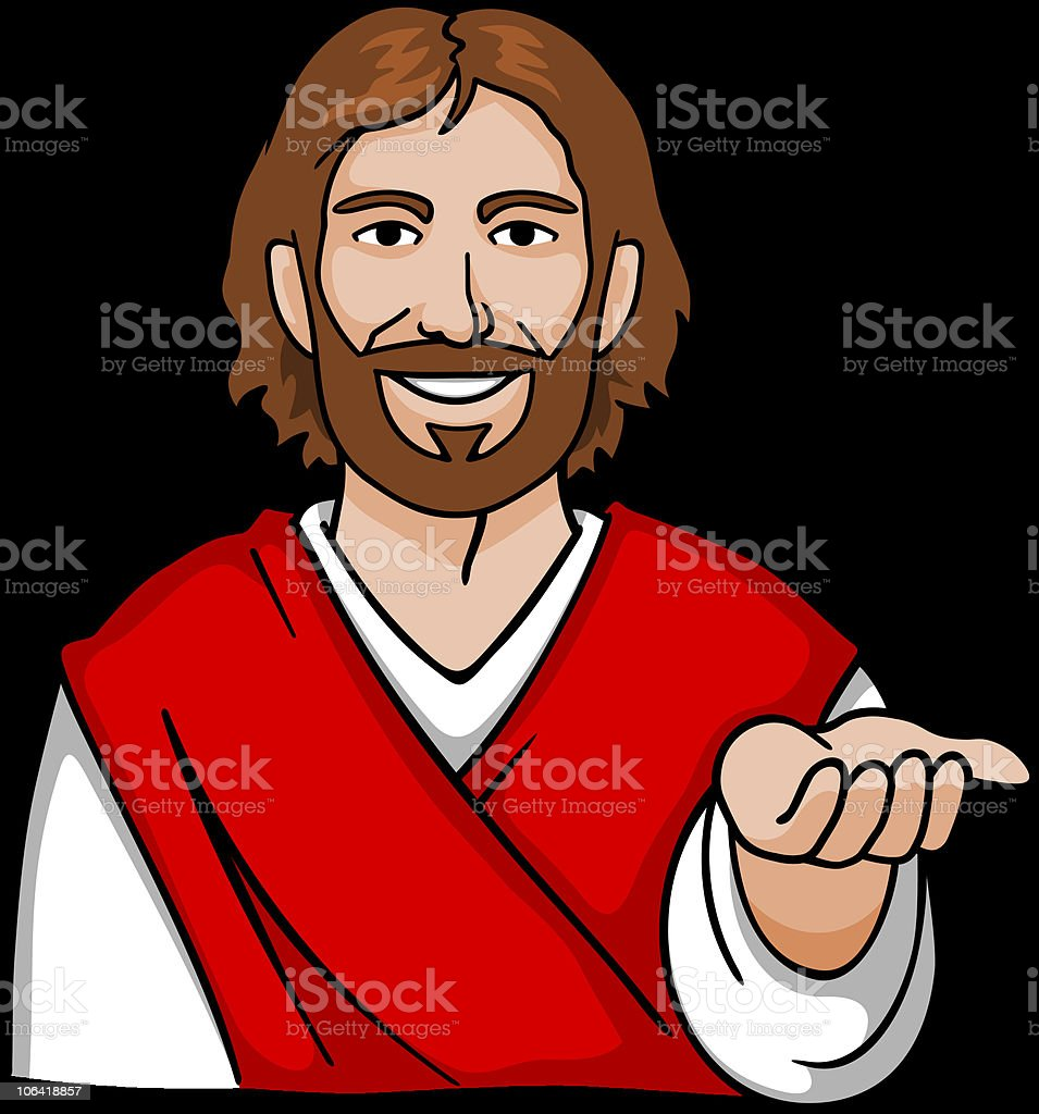 royalty free jesus giving clip art vector images illustrations rh istockphoto com