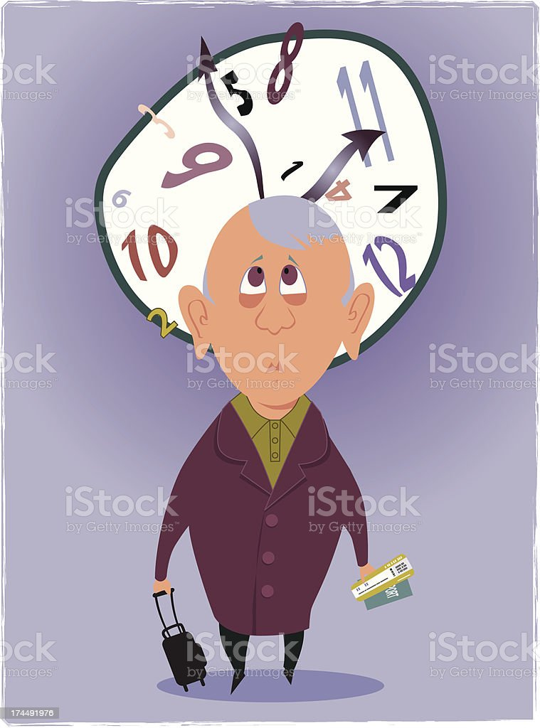 Jet Lag royalty-free jet lag stock vector art & more images of adult