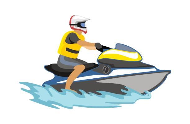 Best Jet Ski Illustrations, Royalty-Free Vector Graphics