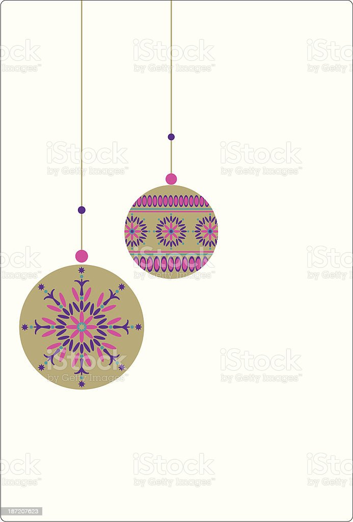 Jewel Opulent Hanging Christmas Baubles royalty-free jewel opulent hanging christmas baubles stock vector art & more images of christmas