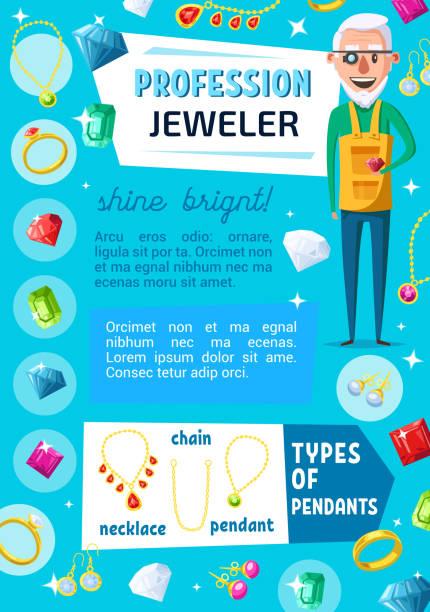 juwelier-, juwelen- und schmuckreparatur - glasohrringe stock-grafiken, -clipart, -cartoons und -symbole