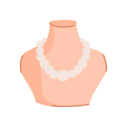 Jewelry Cartoon Style Icon. Colorful Symbol Vector Illustration