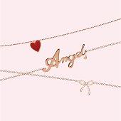 Jewelry chains - angel
