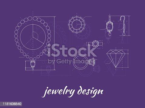 istock Jewelry Design Banner 1151636540