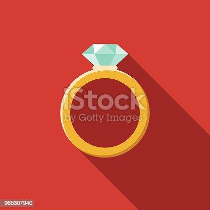istock Jewelry Flat Design Fantasy Icon 965307940