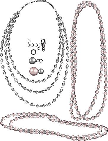 Jewelry Pack-Black Pearl