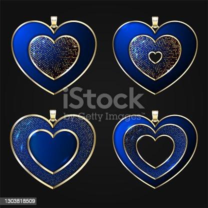 istock Jewelry pendants 1303818509