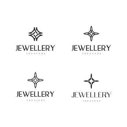 Jewelry symbol diamond set collection bundle - fashion gold luxury lux ring beauty woman feminine glamour style expensive jewel wedding treasure gemstone beads rich crystal pearl