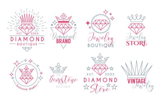 jewelry - diamond shaped stock illustrations, clip art, cartoons, & icons