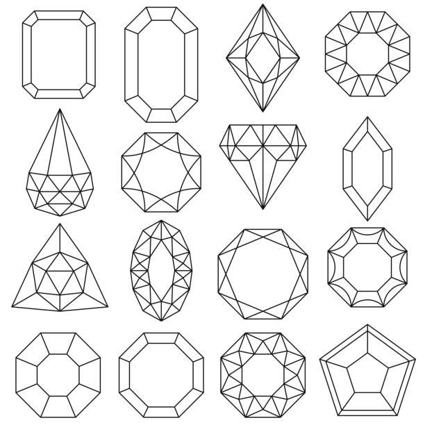 Best Polishing Diamond Illustrations, Royalty-Free Vector