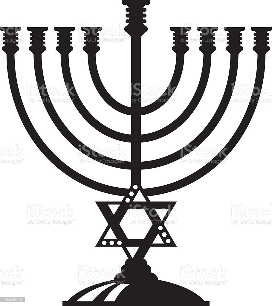 Jewish candle holder stock vector art more images of 2015 jewish candle holder royalty free jewish candle holder stock vector art amp more images biocorpaavc Image collections