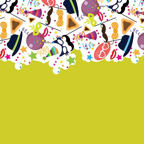 jewish holiday purim vector background - purim stock illustrations, clip art, cartoons, & icons