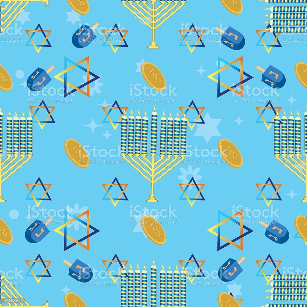 Jewish holiday seamless pattern hanukkah vector. jewish holiday seamless pattern hanukkah vector – cliparts vectoriels et plus d'images de beignet libre de droits
