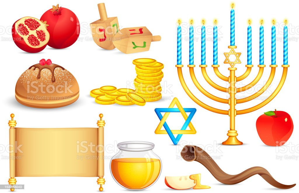 Jewish holy Object royalty-free jewish holy object stock vector art & more images of apple - fruit