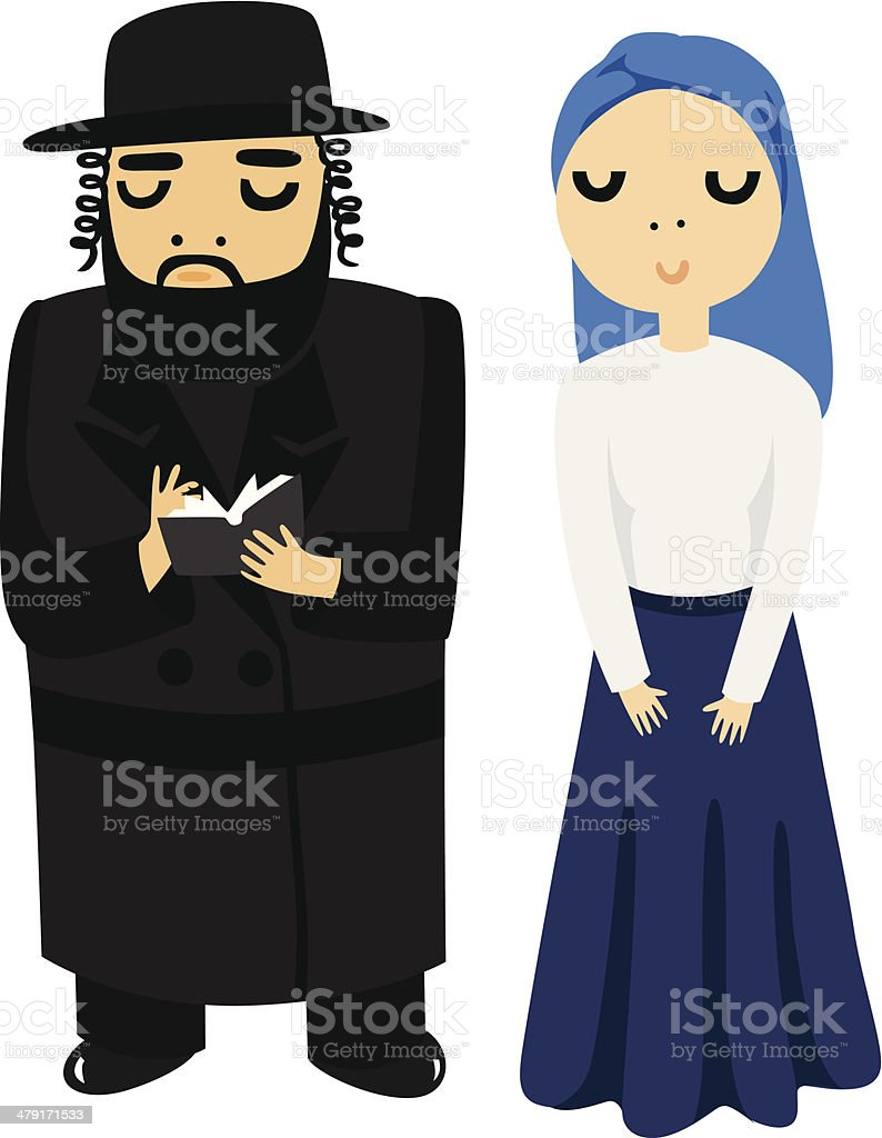 royalty free jewish woman clip art vector images illustrations rh istockphoto com jewish clip art images jewish clip art free download