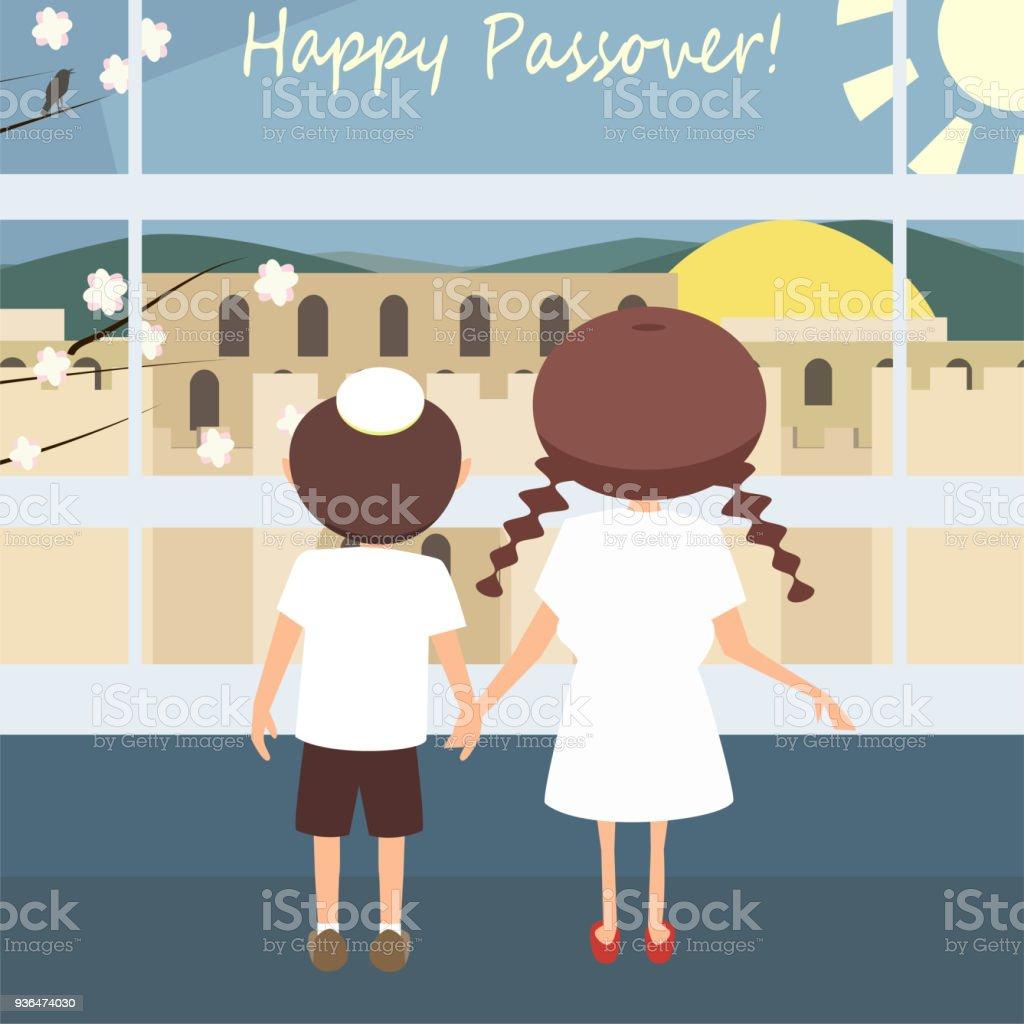 Jewish passover greetings vector stock vector art more images of jewish passover greetings vector royalty free jewish passover greetings vector stock vector art amp m4hsunfo