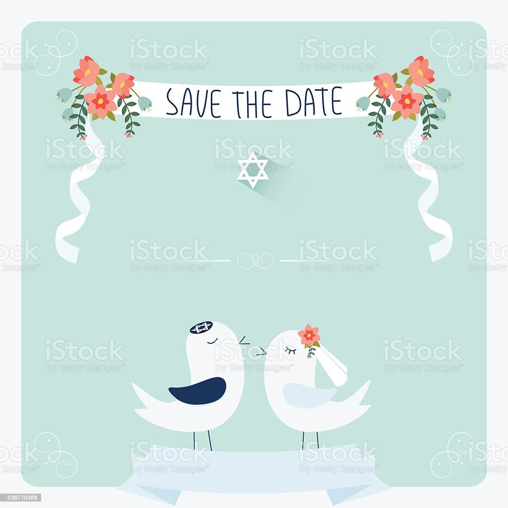 5+ Best Picture Jewish Wedding Invitation Template