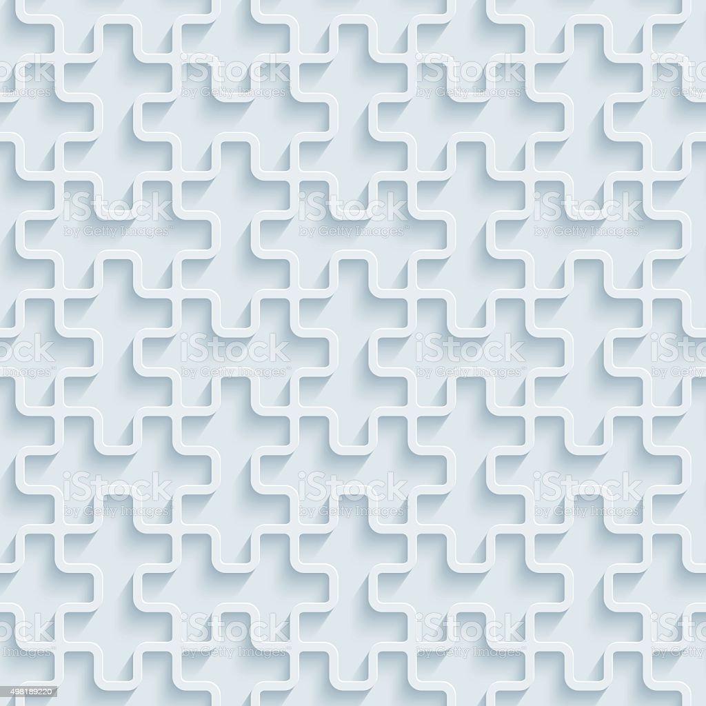 puzzle 3d nahtlose tapete muster lizenzfreies puzzle 3d nahtlose tapete muster stock vektor art - Puzzle Muster