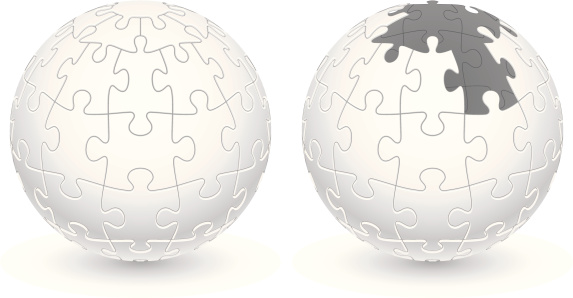 Jigsaw Puzzle Ball
