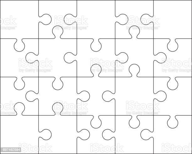 Jigsaw puzzle blank template or cutting guidelines vector id697462594?b=1&k=6&m=697462594&s=612x612&h=waueu2no2kefcznpog2yhfxqa6mqacv 9n ulpcyehq=