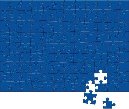 Jigsaw Puzzle Pattern 108