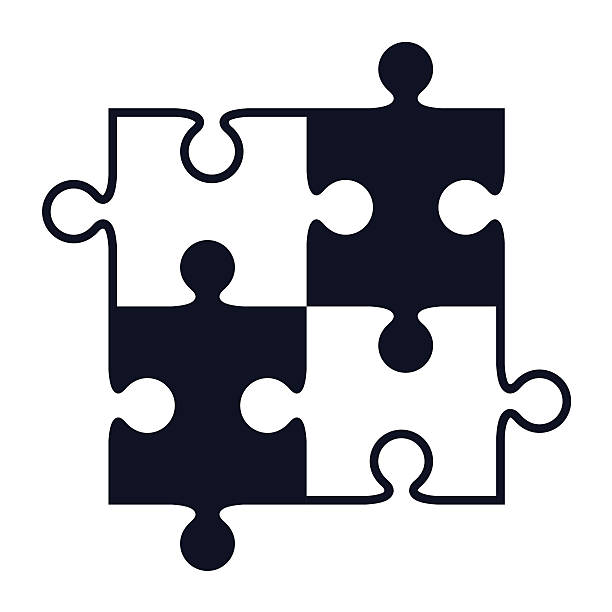 Royalty Free Puzzle Pieces Clip Art Vector Images Illustrations