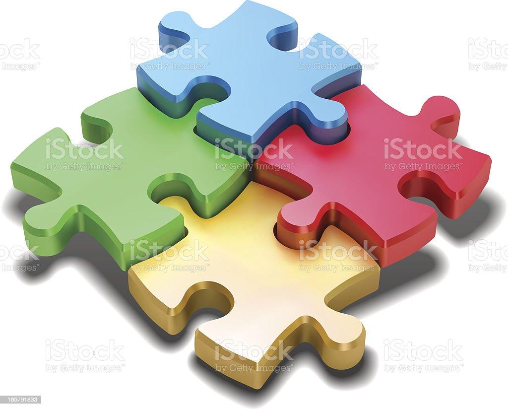 jigsaw puzzle stock vector art 165791833 istock