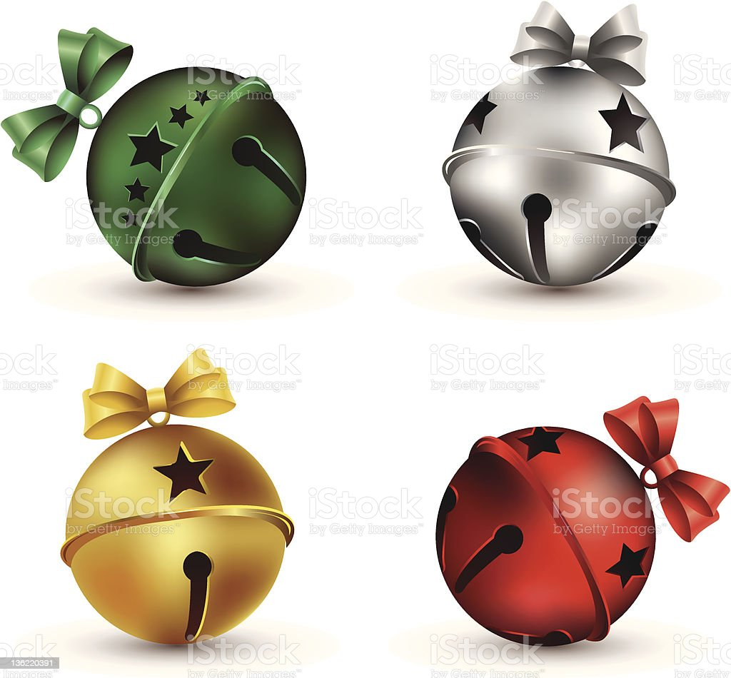 Jingle Bells vector art illustration