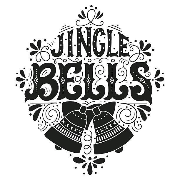 Jingle bells vector art illustration
