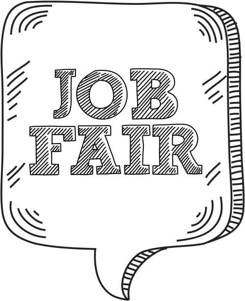 Top 60 Job Fair Clip Art, Vector Graphics and