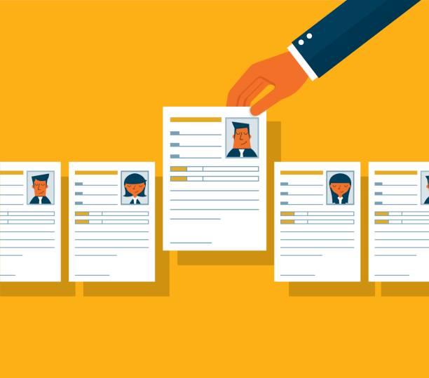 ilustrações de stock, clip art, desenhos animados e ícones de job interview - job interview