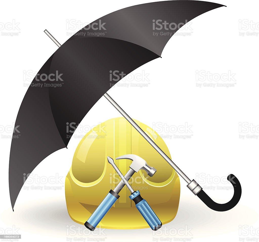Job Protection royalty-free stock vector art