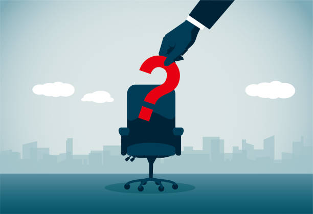 Job Search vector art illustration
