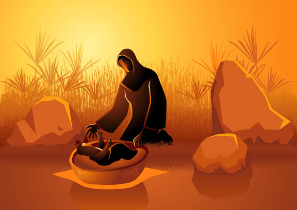 47 Baby Moses Illustrations & Clip Art - iStock