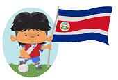 Jogador de futebol da Costa Rica