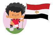Jogador de futebol do Egito