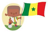 Jogador de futebol (Senegal)