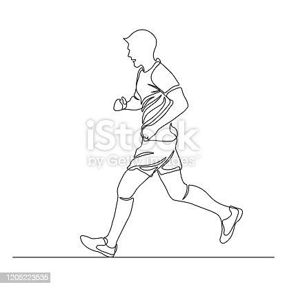 istock Jogging man 1205223535