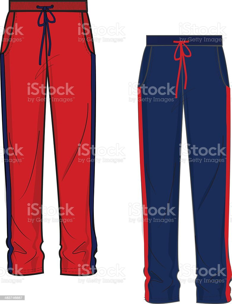 royalty free jogging pants clip art vector images illustrations rh istockphoto com clip art pantry clipart panthers football