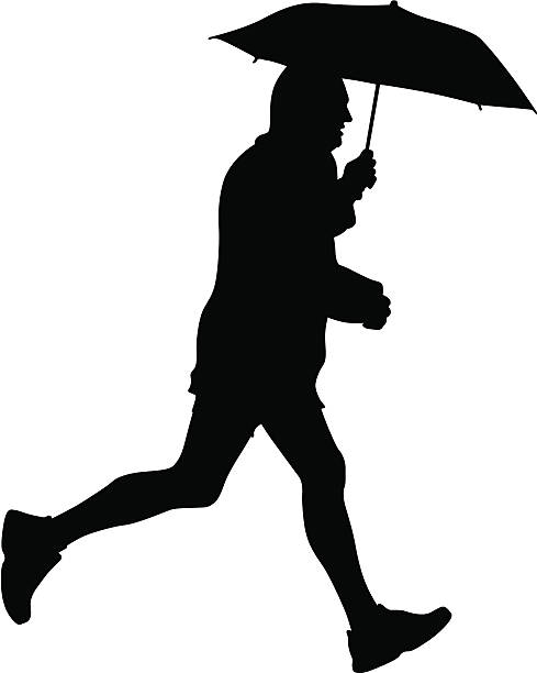 jogging - old man shoes stock illustrations, clip art, cartoons, & icons